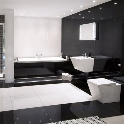 absolute black polished porcelain wallfloor tile