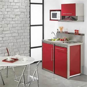 Kitchenette Pour Bureau : la kitchenette moderne quip e et sur optimis e ~ Premium-room.com Idées de Décoration