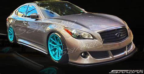 custom infiniti  sedan front add  lip