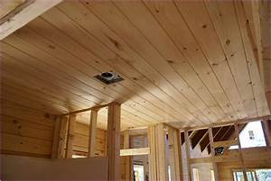 Popular Tongue And Groove Ceiling — John Robinson House