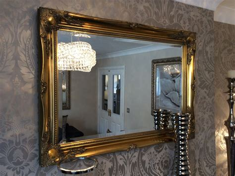 Buy Decorative Wall Mirrors For Sale by Large Antique Gold Shabby Chic Ornate Decorative
