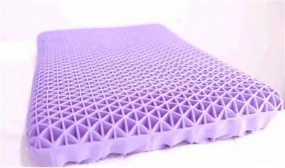Purple Pillow Mattress Powder Grid Rolled Pillows