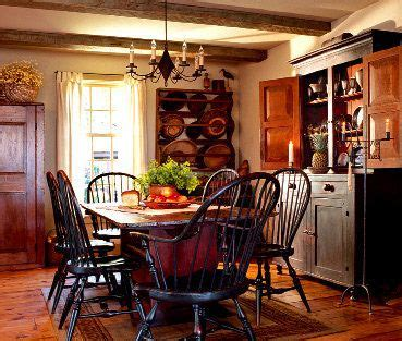 farmhouse dining rooms windsor chairs  dining rooms  pinterest