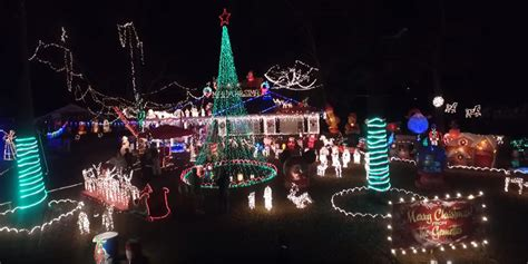 drone video captures spectacular montgomery christmas
