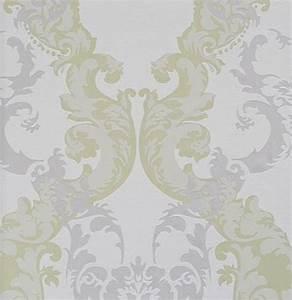 Tapete Grau Grün : ornamentals barock tapete ornamente 48660 wei grau gr n euro pro m ebay ~ Eleganceandgraceweddings.com Haus und Dekorationen