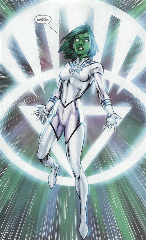 white lantern the brightest day the blackest night character close up jade