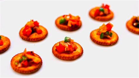 canape toppings nachos biscuit canapes toppings dips snacks