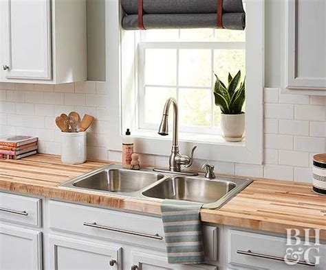 diy butcher block kitchen countertops