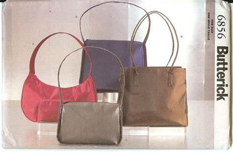 Oop Butterick Sewing Pattern Purses Handbags Bags Back