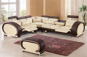 2015 designer modern top graded cow recliner leather sofa for At home store living room furniture