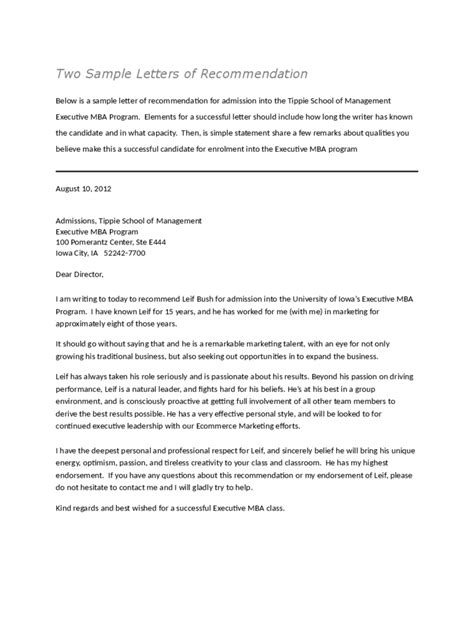 recommendation letter from employer recommendation letter templates 8 free templates in pdf 10869