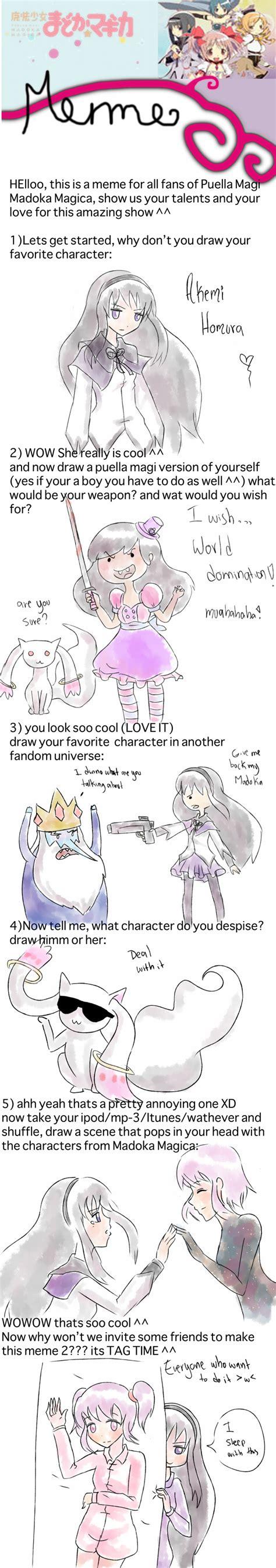 Madoka Magica Memes - puella magi madoka magica meme by sakurayagami on deviantart