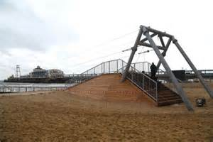 Pier Zip Wire by World S First Pier To Shore Zip Wire Launched Today But