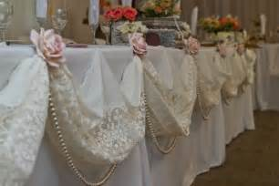 Bridal Shower Dessert Ideas vintage bridal table decor bridal table decoration