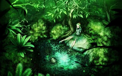 Green Anime Wallpaper - anime wallpaper 1824x1140 wallpoper 174684