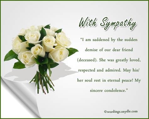 sympathy messages condolence messages wordings and messages