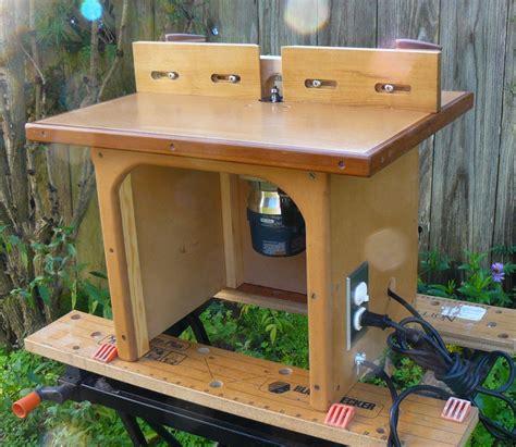 dans benchtop router table  wood whisperer