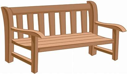 Bench Park Clipart Clip Furniture Yopriceville Transparent