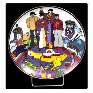 The Beatles All Together Now 8 1/8-inch Plate - Gartlan