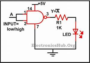 Basic Logic Gates Using Nand Gate