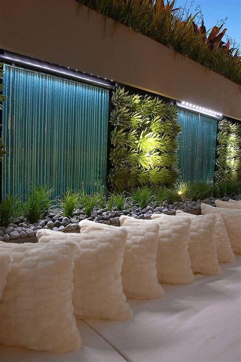 des murs d eau pour un ext 233 rieur exceptionnel floriane
