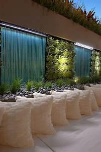 des murs d39eau pour un exterieur exceptionnel floriane With photo amenagement terrasse exterieur 17 parement mur interieur