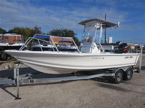 Sea Pro Bay Boat by 2004 Sea Pro Bay Boat Sv2100 For Sale Clear Lake Tx
