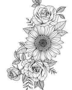 Pleasant Dale, Nebraska   tats   Flower tattoos, Tattoos, Realistic flower tattoo