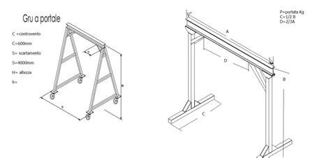steel frame gantry crane chain hoist  ton project