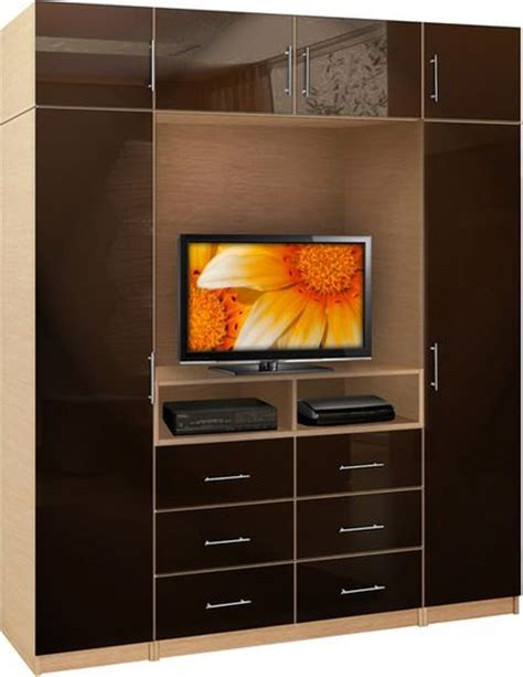 Wardrobe Wall Unit Furniture by Contemporary Closet Doors For Bedrooms Contemporary