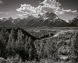 Ansel Adams Most Famous Photograph | Ansel Adams Grand Tetons | Ansel adams, Black and white ...