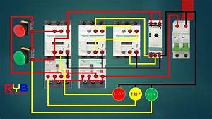 Star Delta Starter Control Circuit Diagram   Star Delta Connection