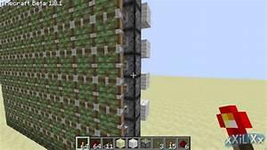 Minecraft - Piston Wall  Tutorial
