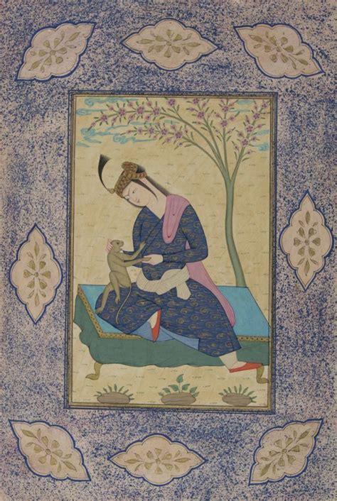 striking collection   qajar era persian miniature
