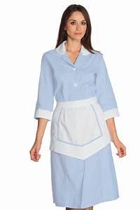 Tenue De Cuisine Femme : ensemble femme de chambre 100 coton blouse femme de chambre ~ Teatrodelosmanantiales.com Idées de Décoration