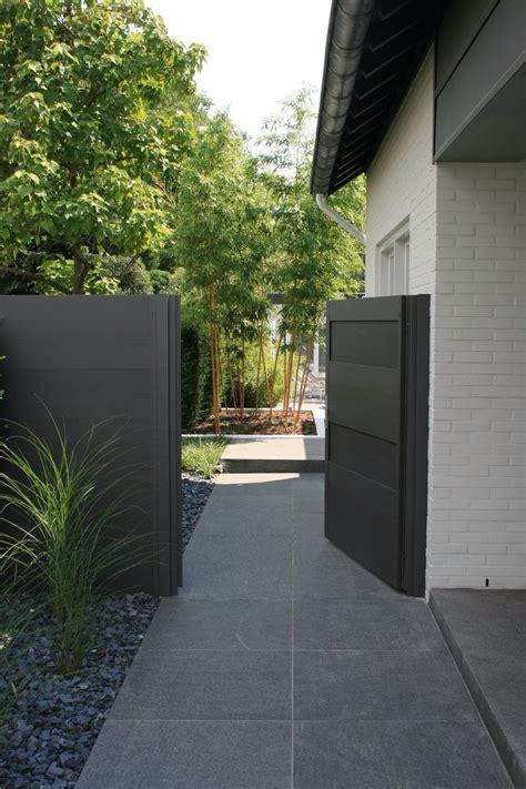 sichtschutz für garten und terrasse durchgang zur terasse for the home in 2019