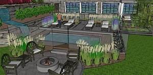 plan amenagement jardin rectangulaire kirafes With plan amenagement jardin rectangulaire
