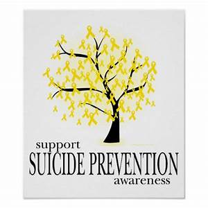 Suicide Prevention Tree Posters | Zazzle
