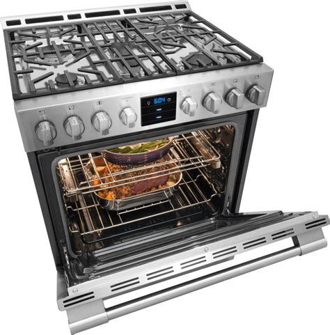 frigidaire gas professional range freestanding front control ranges stainless steel inch cooktop kitchen series oven appliances burner cooking temperature dual
