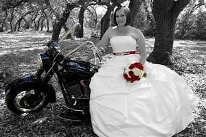 my my dress and my dads motorcycle weddingbee photo With motorcycle wedding dress