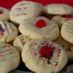 Mix the dough until smooth then mix in. Whipped Shortbread   4 ingredients, easy, cornstarch - Food Meanderings