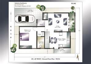 modern home floor plans 30 x 40 house plans 30 x 40 west facing house plans