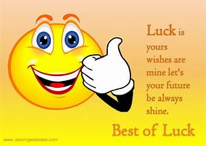 Best Of Luck Quotes. QuotesGram