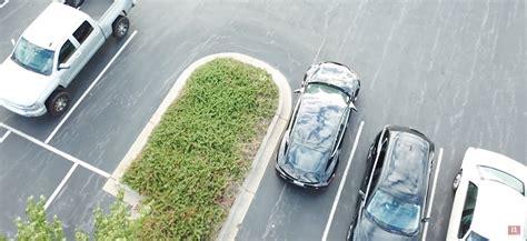 testing autopark autopilot   tesla model
