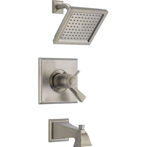 Delta Dryden Faucet Home Depot by Delta Dryden Tempassure 17t Series 1 Handle Tub And Shower