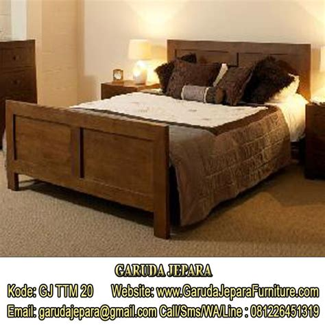 tempat tidur minimalis hotel garuda jepara furniture