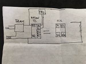 Help With Wiring A Temperature Controller And A Solid