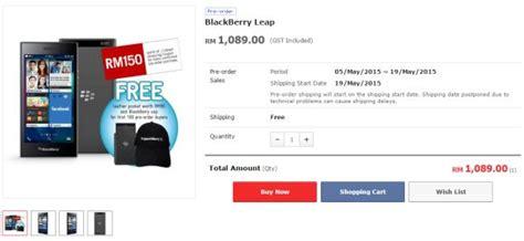 blackberry leap malaysia price archives soyacincau