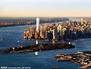 纽约曼哈顿摄影图__建筑景观_自然景观_摄影图库_昵图网nipic.com