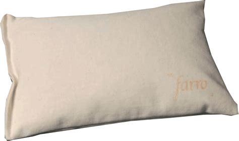 cuscini farro cuscino benessere cuscino antidecubito nero supporto